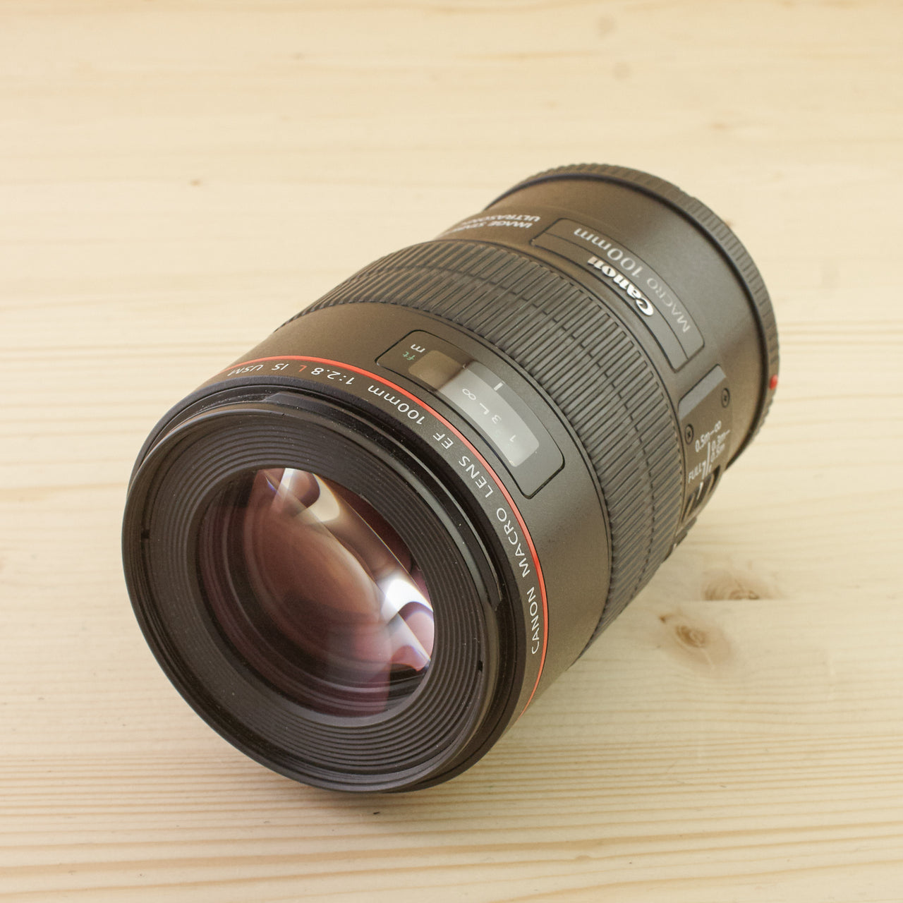 Canon EF 100mm f/2.8 L Macro IS Exc+ Boxed