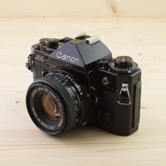 Canon A-1 w/ 50mm f/1.8 Exc+ - West Yorkshire Cameras