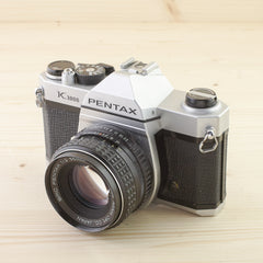 Pentax K1000 w/ 55mm f/2 Exc - West Yorkshire Cameras