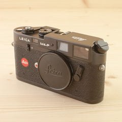 Leica M4-P Black Body Exc+ Boxed