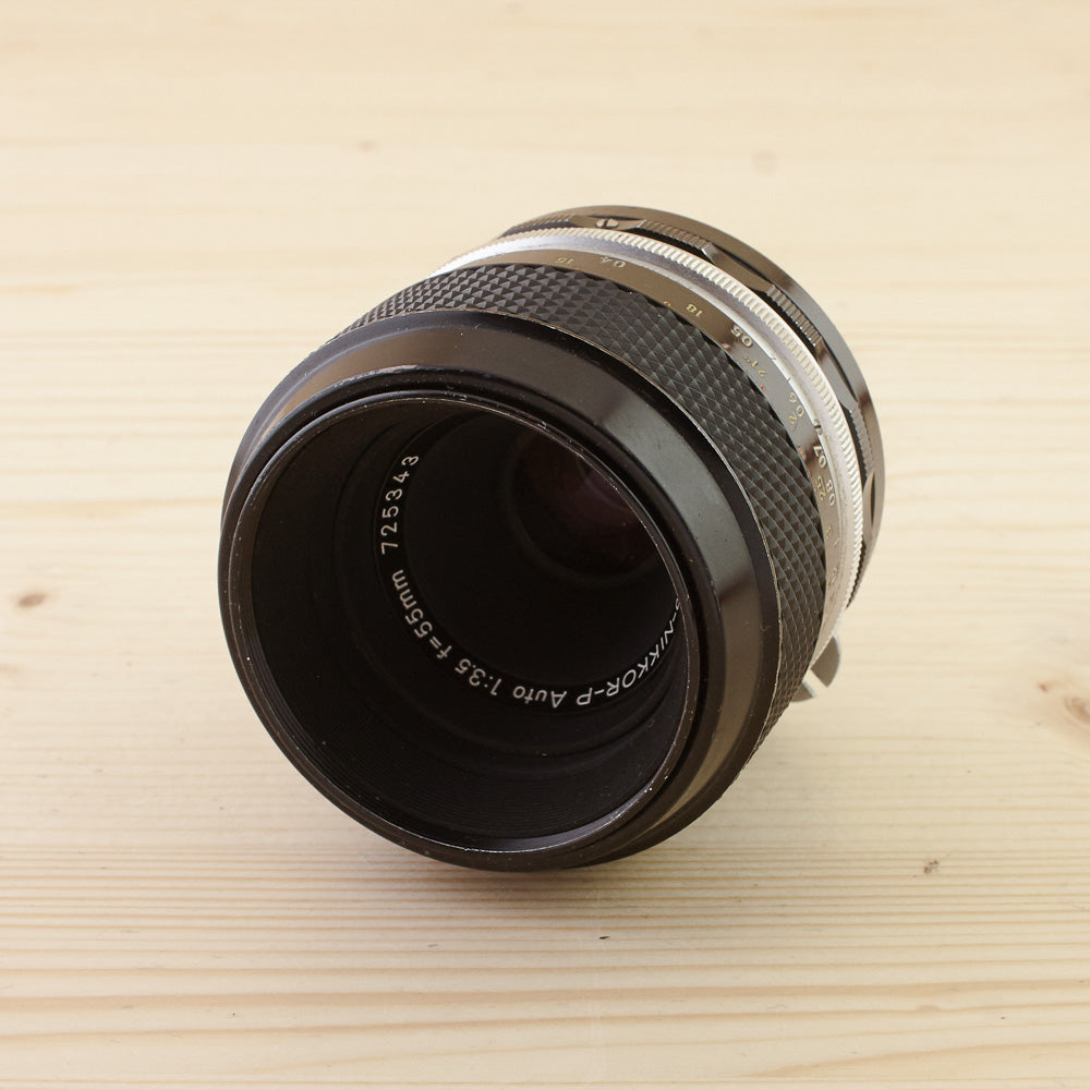 Nikon Non-Ai 55mm f/3.5 Macro Exc Boxed - West Yorkshire Cameras