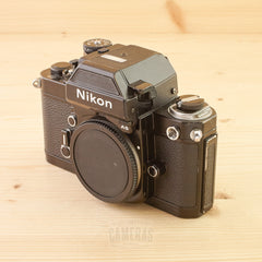 Nikon F2AS Black Body Exc