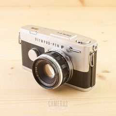 Olympus Pen FT w/ 38mm f/1.8 with case Exc