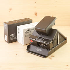 Polaroid SX-70 Black kit Exc