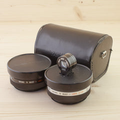 Yashica Aux Wide and Tele Lenses for Electro Cameras Exc - West Yorkshire Cameras