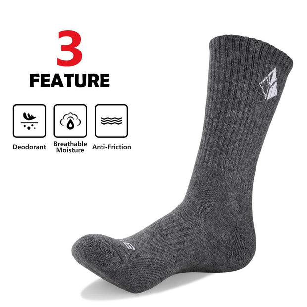 5 Pairs Yuedge Cotton Socks