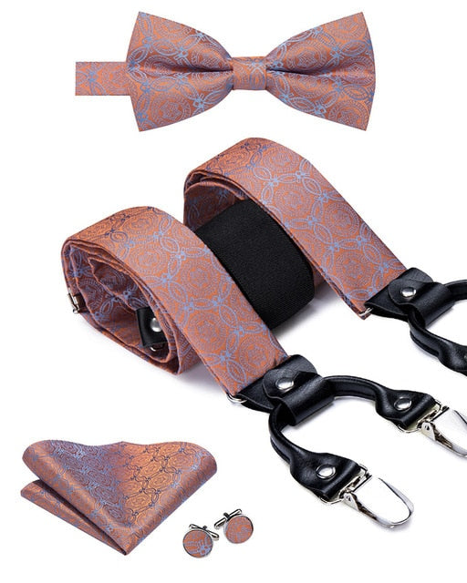 Men's Suspender Set