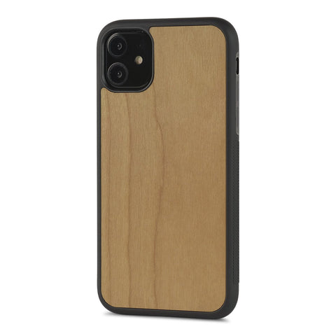 iPhone 11 —  #WoodBack Explorer Black Case