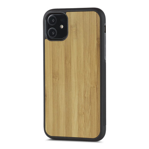 iPhone 11 Pro —  #WoodBack Explorer Black Case