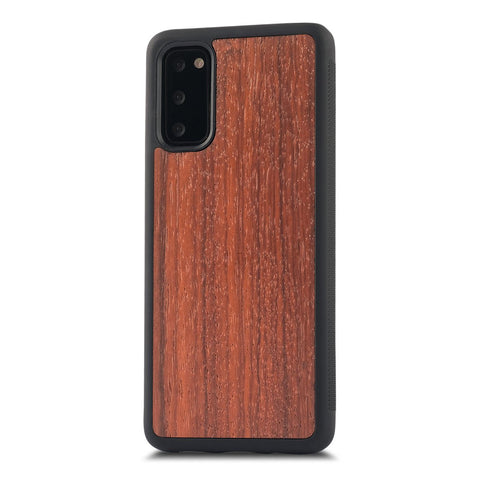 Samsung Galaxy S20+ —  #WoodBack Explorer Case