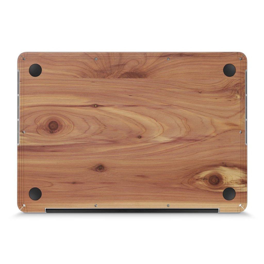 "MacBook Pro 17"" —  #WoodBack Bottom Skin - Cover-Up"