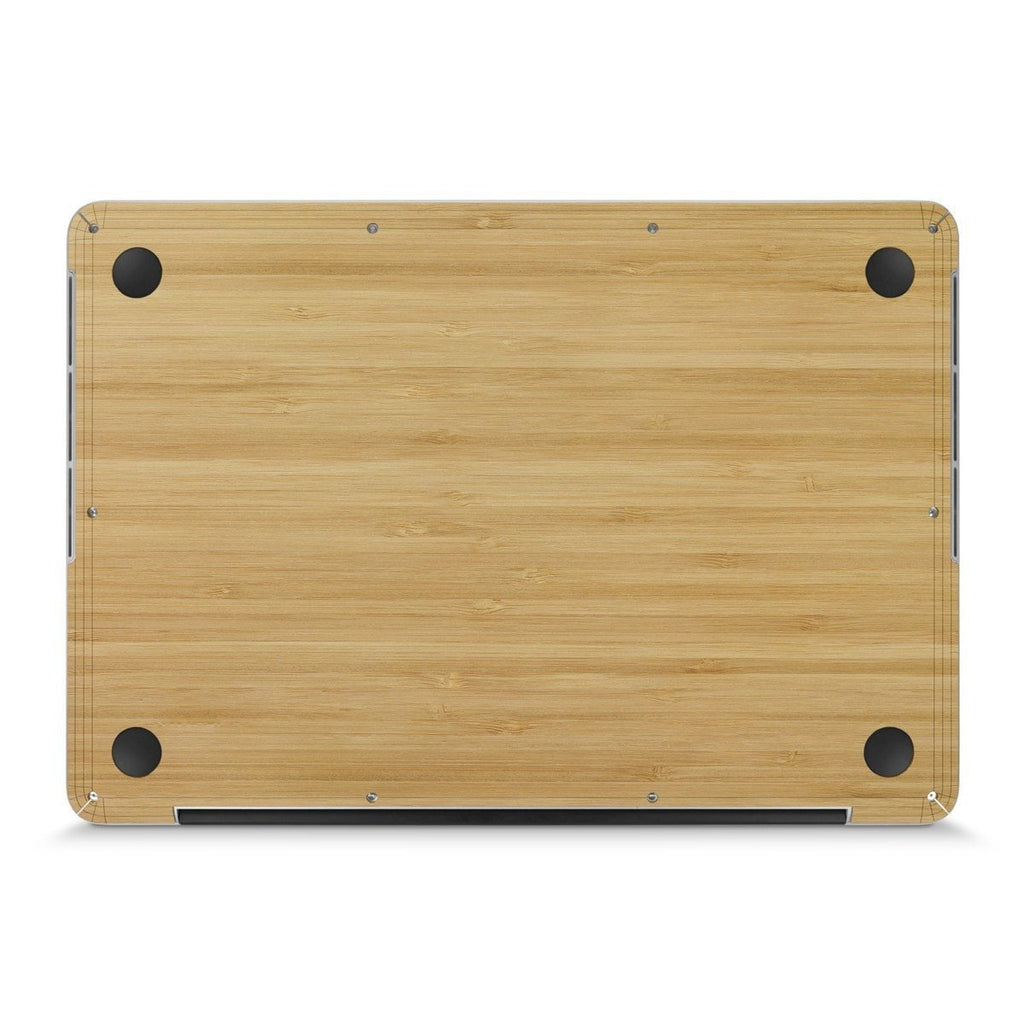 "MacBook Pro 13"" (2016-2019) —  #WoodBack Bottom Skin - Cover-Up"