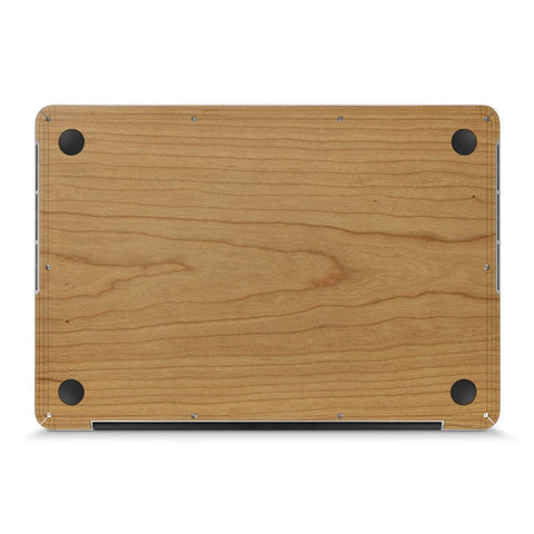 "MacBook Pro 13"" Retina —  #WoodBack Bottom Skin - Cover-Up"