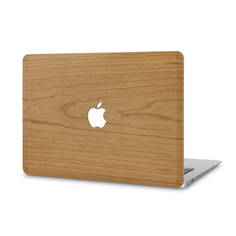 "MacBook Pro 13"" Retina — #WoodBack Skin - Cover-Up - 1"