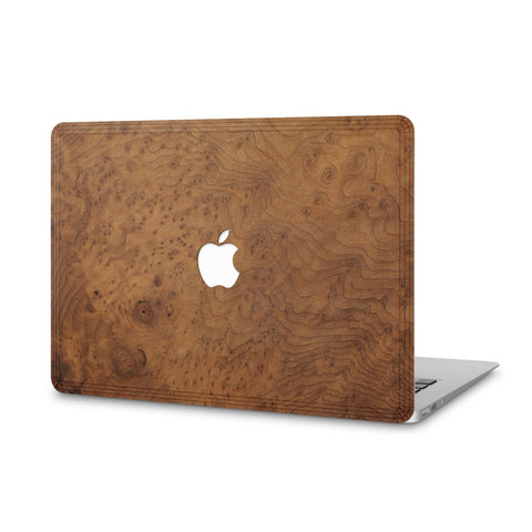 "MacBook Pro 17"" — #WoodBack Skin"