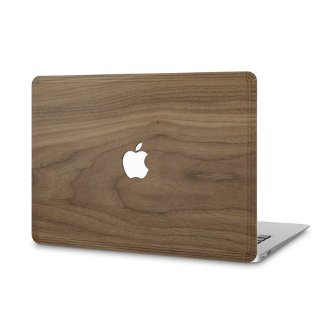 "MacBook Pro 13"" — #WoodBack Skin - Cover-Up - 1"