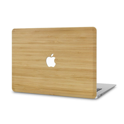 "MacBook Pro 15"" — #WoodBack Skin - Cover-Up - 1"