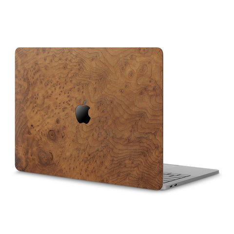 "MacBook Pro 13"" (2016-2019) Non Touch Bar — #WoodBack Skin"