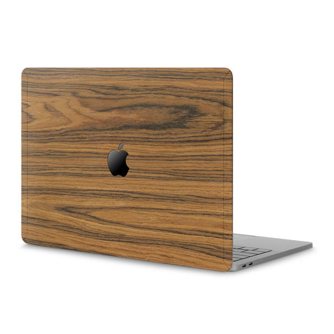 "MacBook Pro 15"" (2016-2019) Touch Bar — #WoodBack Skin"