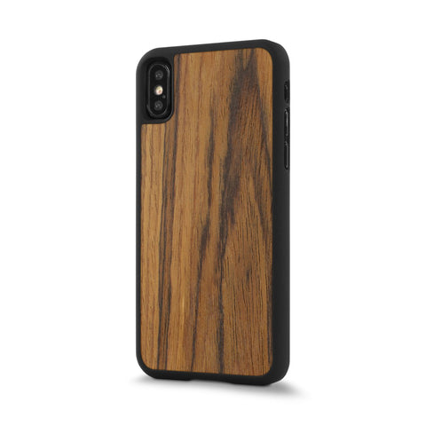 iPhone XS — #WoodBack Snap Case