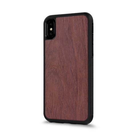 iPhone XS —  #WoodBack Explorer Case