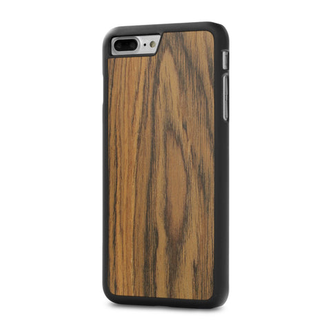 iPhone 7 Plus — #WoodBack Snap Case