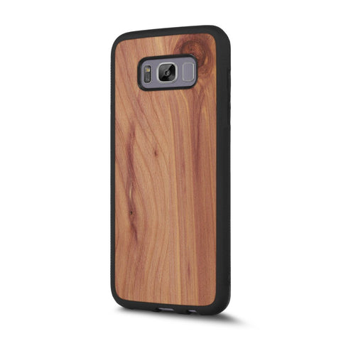 Samsung Galaxy S8 Plus — #WoodBack Explorer Case