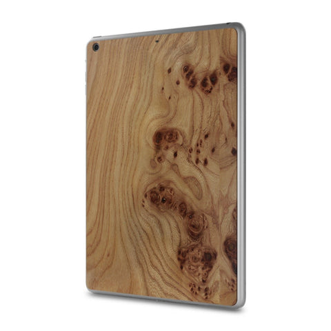 iPad Air — #WoodBack Skin - Cover-Up - 1