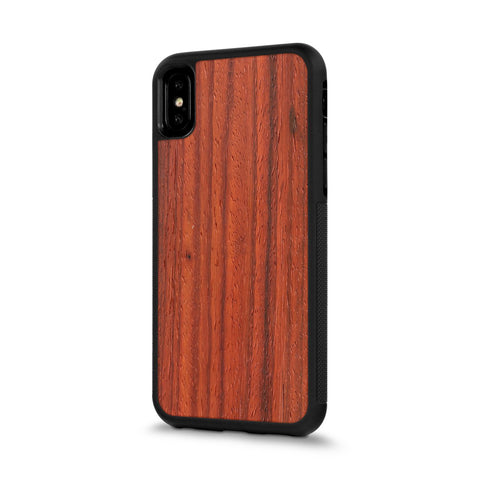 iPhone XS Max —  #WoodBack Explorer Case
