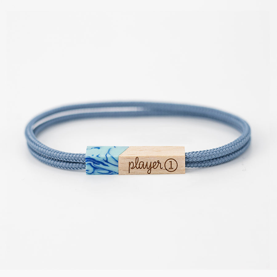 pulseras grabadas player one azure