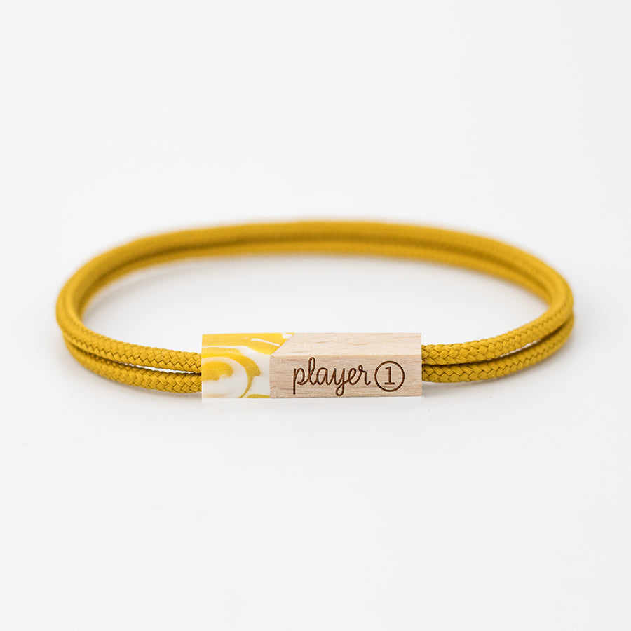 pulseras grabadas player one canary