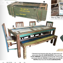 Reclaimed Wood Home Furniture Better Homes