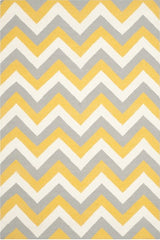 Chevron Dhurrie Design