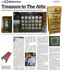 Coverage of The Attic by Gulf News' Property Weekly