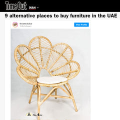 TimeOut Dubai lists The Attic among best alternative places to buy furniture in the UAE