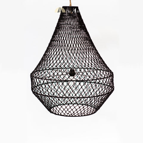 Antigua Rope Pendant, Large, Lighting & Home Decor - TheAttic-Dubai.com