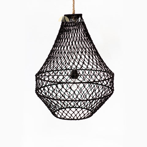 Antigua Rope Pendant, Small - theattic-dubai.com