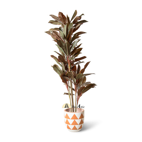 Cordyline Red Faux Plant 1.7m - theatticdubai.com