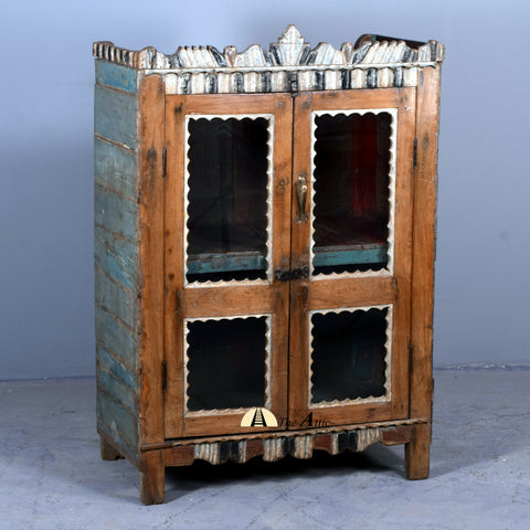 Vintage Small Display Cabinet - The Attic Dubai