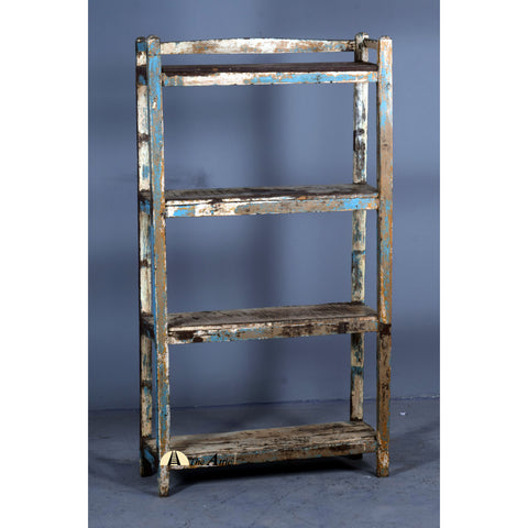 Distressed Vintage Bookshelf - www.theattic-dubai.com