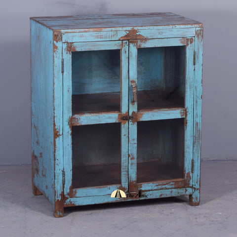 Small Vintage Display Cabinet - The Attic Dubai