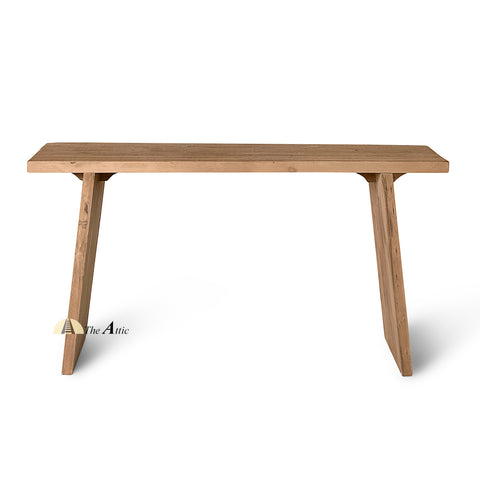 Dallas Recycled Old Pine A-line Console - The Attic Dubai