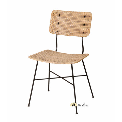 Izmir Rattan Desk Chair, Rattan Wicker Furniture - TheAttic-Dubai.com