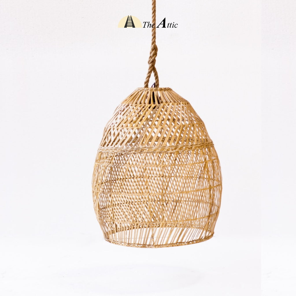 Galle Rattan Pendant, Large