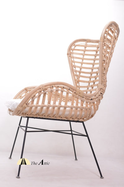 Ghana natural brown rattan chair Bohemian ice chair egg chair, theattic-dubai.com