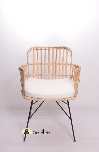 Hana Rattan Arm Chair - theattic-dubai.com