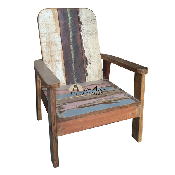Reclaimed Wood Armchair for Kids