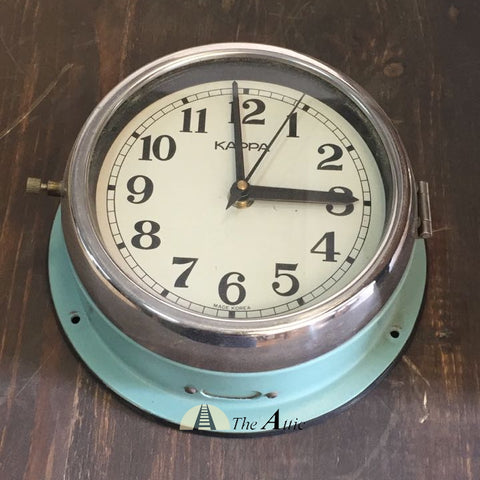 Rare Antique Marine Wall Clock