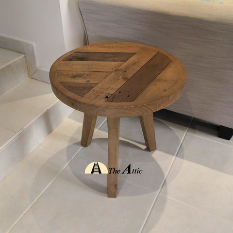 Reva Parquet Side Table