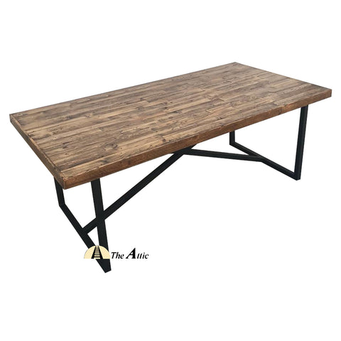 Harbour Industrial X-Leg Dining Table